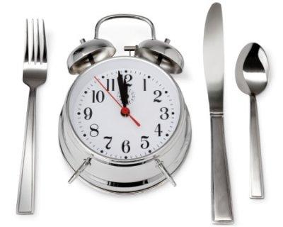 Alimentazione: E' importante rispettare gli orari dei pasti!