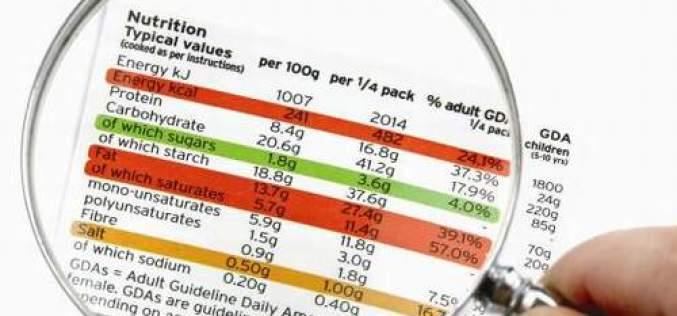 Dichiarazione nutrizionale: circolare Ministero della Salute su alimenti esonerati
